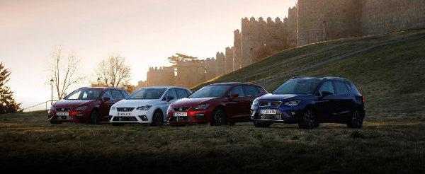 Seat nos ha mostrado su gama TGI al completo, compuesto por tres coches más el Mii, que aunque no está dentro de la gama, cuenta con tecnología GNC.