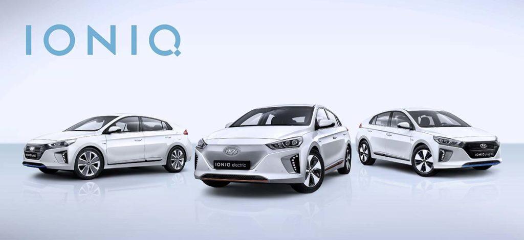 Así son las tres versiones del Hyundai Ioniq
