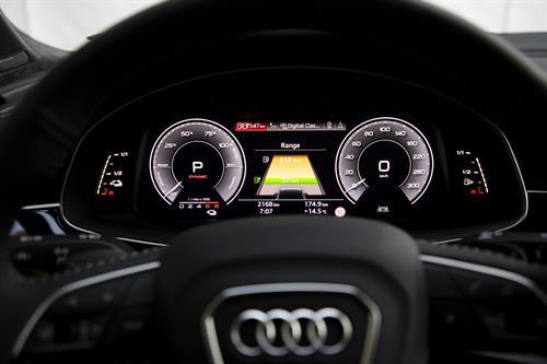 Cuadro del Audi Q7 60 TFSIe Quattro