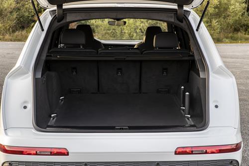Maletero del Audi Q7 60 TFSIe Quattro
