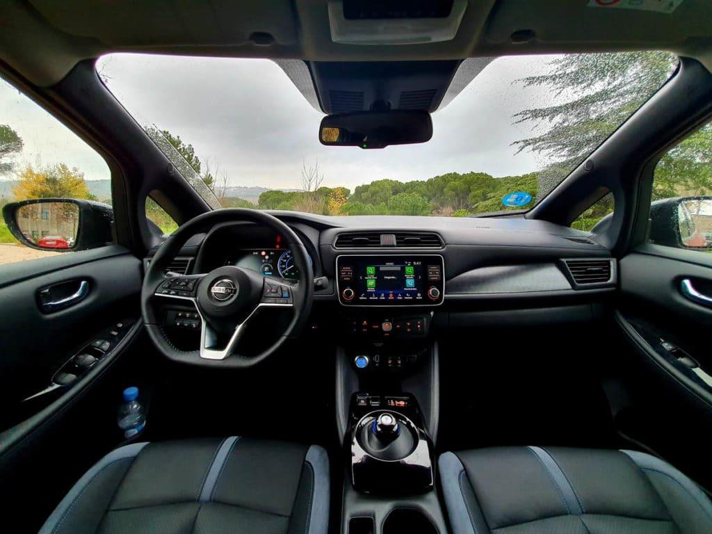 Nissan Leaf e+ salpicadero