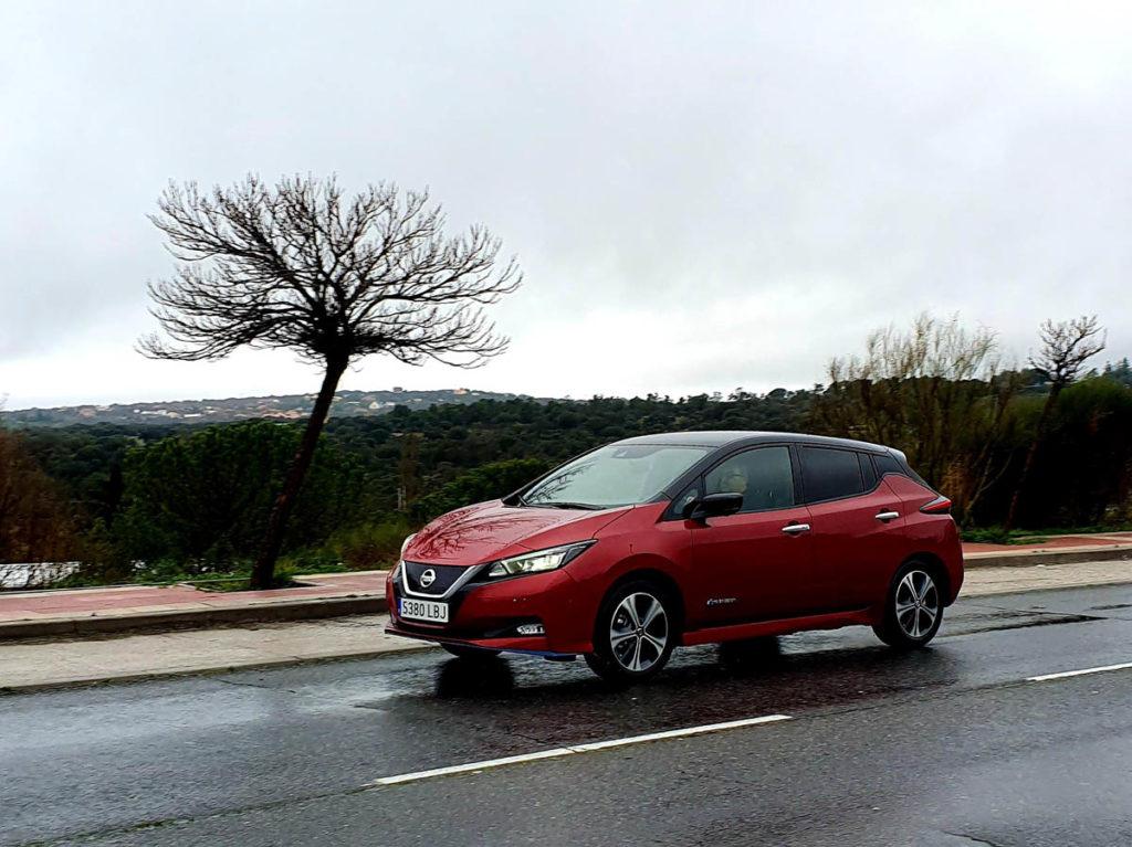 Nissan Leaf e+ en carretera