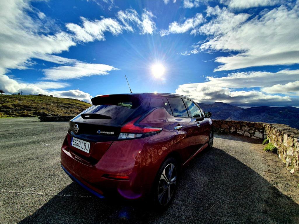Nissan Leaf e+ trasera