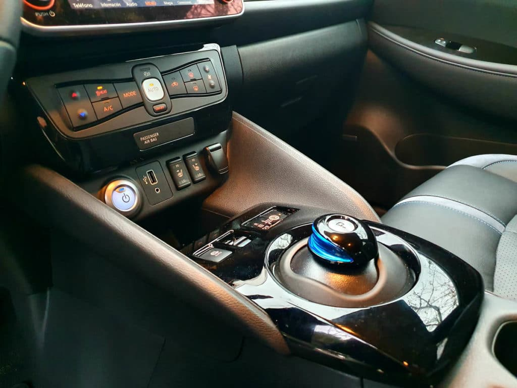 Nissan Leaf e+ control