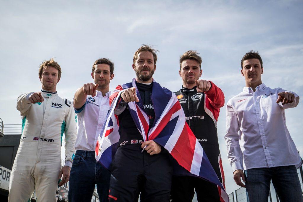 Competidores y escudería Formula E