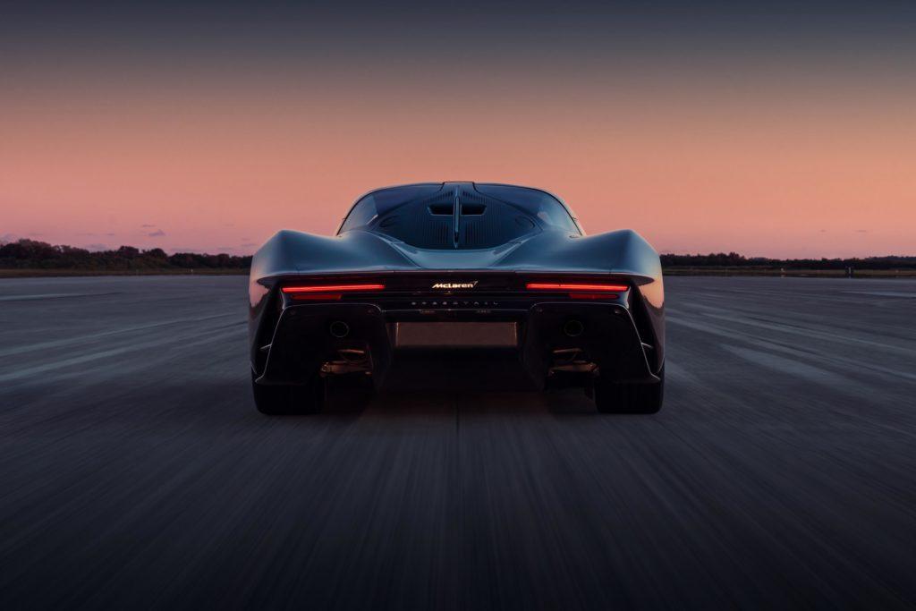 Nuevo McLaren Speedtail vista trasera