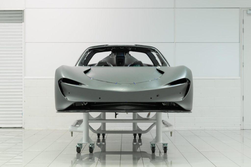 McLaren Speedtail frontal