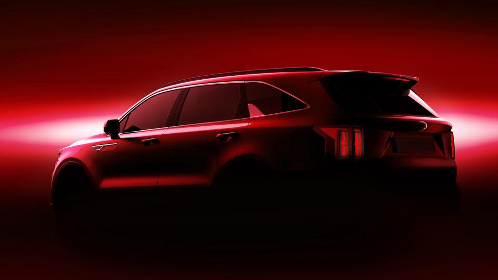 Kia lanza las primeras imágenes del nuevo Sorento, como vehículo híbrido que será presentado de forma oficial en el Salón de Automóvil de Ginebra.